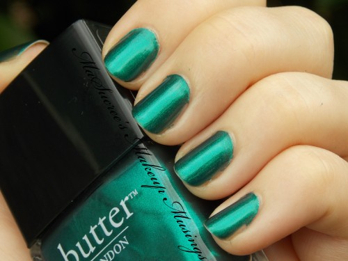 Butter London Thames Swatches MMM