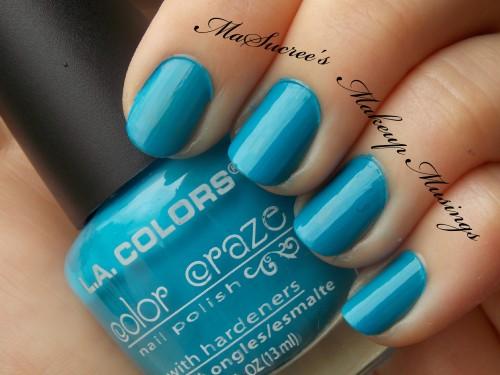 LA Colors Aquatic Swatch