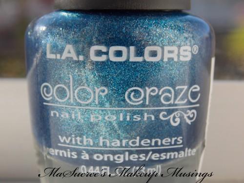 LA Colors Cobalt Bottle
