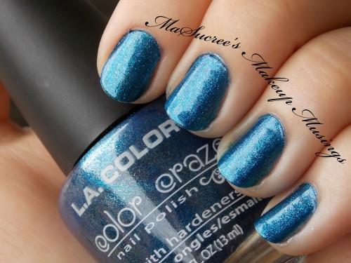 LA Colors Cobalt Swatch
