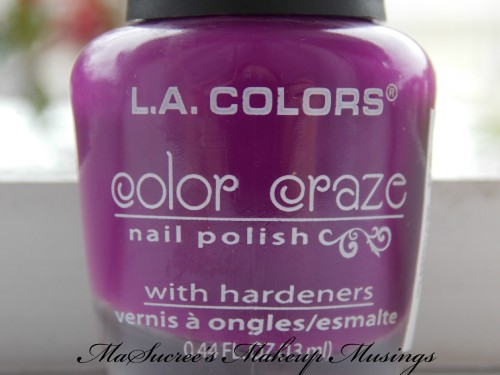 LA Colors Edgy Bottles