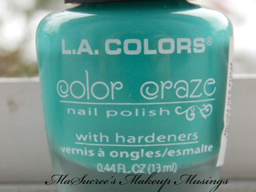 LA Colors Sea Foam Bottle