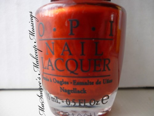 OPI Die Another Day Bottle