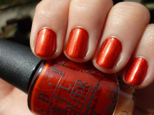 OPI Die Another Day Swatch 2