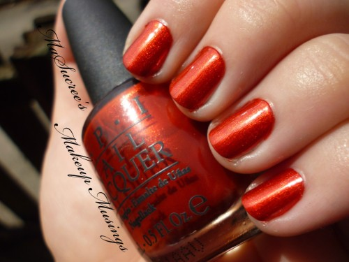 OPI Die Another Day Swatch 3