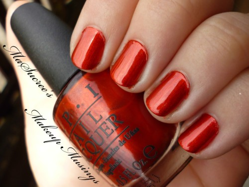 OPI Die Another Day Swatch 5