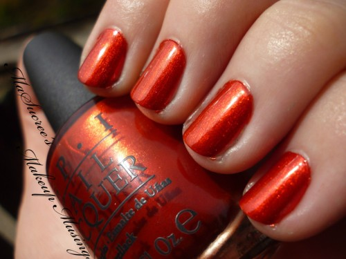 OPI Die Another Day Swatch
