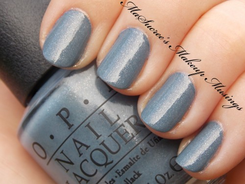 OPI I Have A Herring Problem Swatch