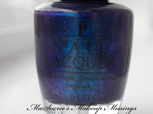 OPI Yoga-Ta Get This Blue Bottle