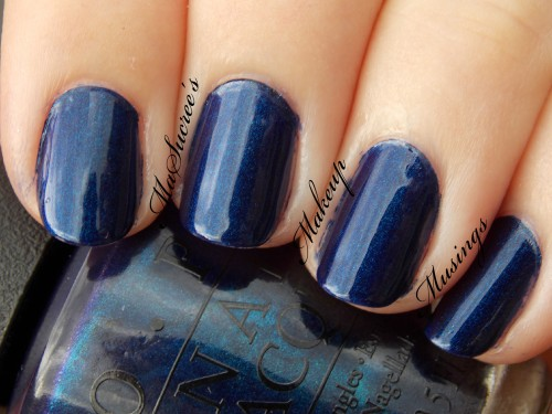 OPI Yoga-Ta Get This Blue Swatch 2