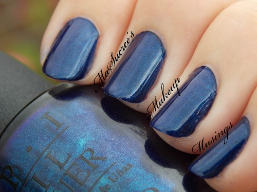 OPI Yoga-Ta Get This BLue Swatch 3