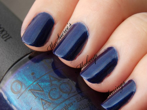 OPI Yoga-Ta Get This Blue Swatch
