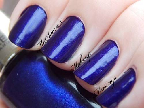 LOREAL Mystic Blue Swatch MMM