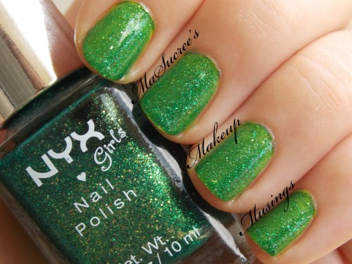 NYX Emerald Forest over CG DD