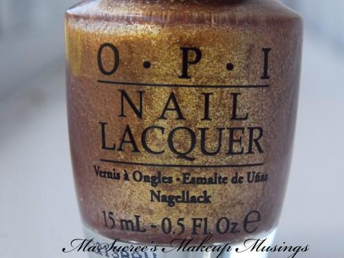 OPI GoldenEye Bottle