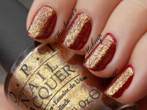 OPI Goldeneye Ove W7 Crimson