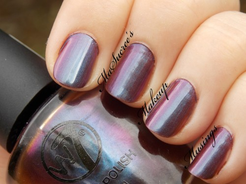 W7 Metallic Venus Swatch 2