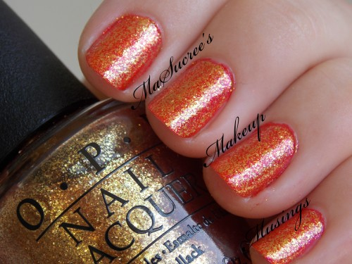 ORLY Emberstone with Goldeneye