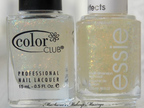 Essie SOTT vs CC SF