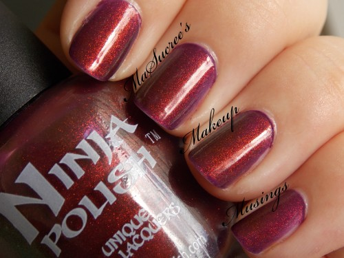 NP Divinity Swatch No Sun