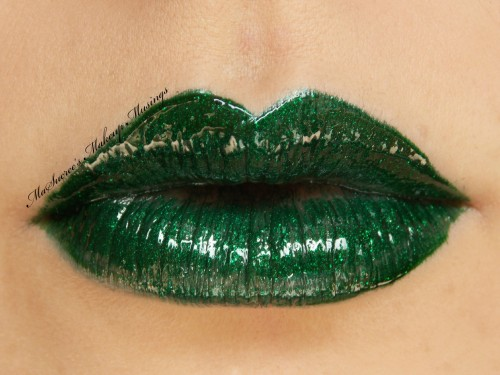 LimeCrime Serpentina and Holly Glam 2edited