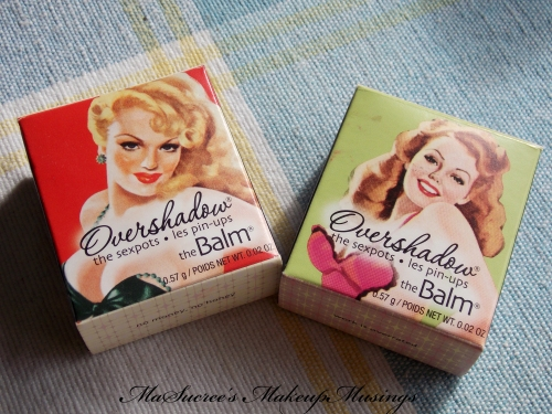 TheBalm Overshadows Boxes