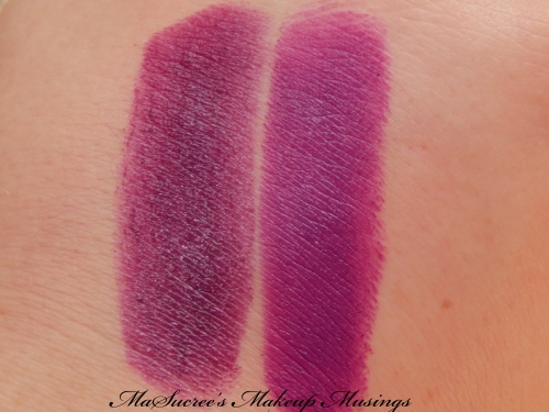 MAC Heroine Vs Pure Heroine