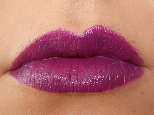 MAC Pure Heroine Lip Swatch 2