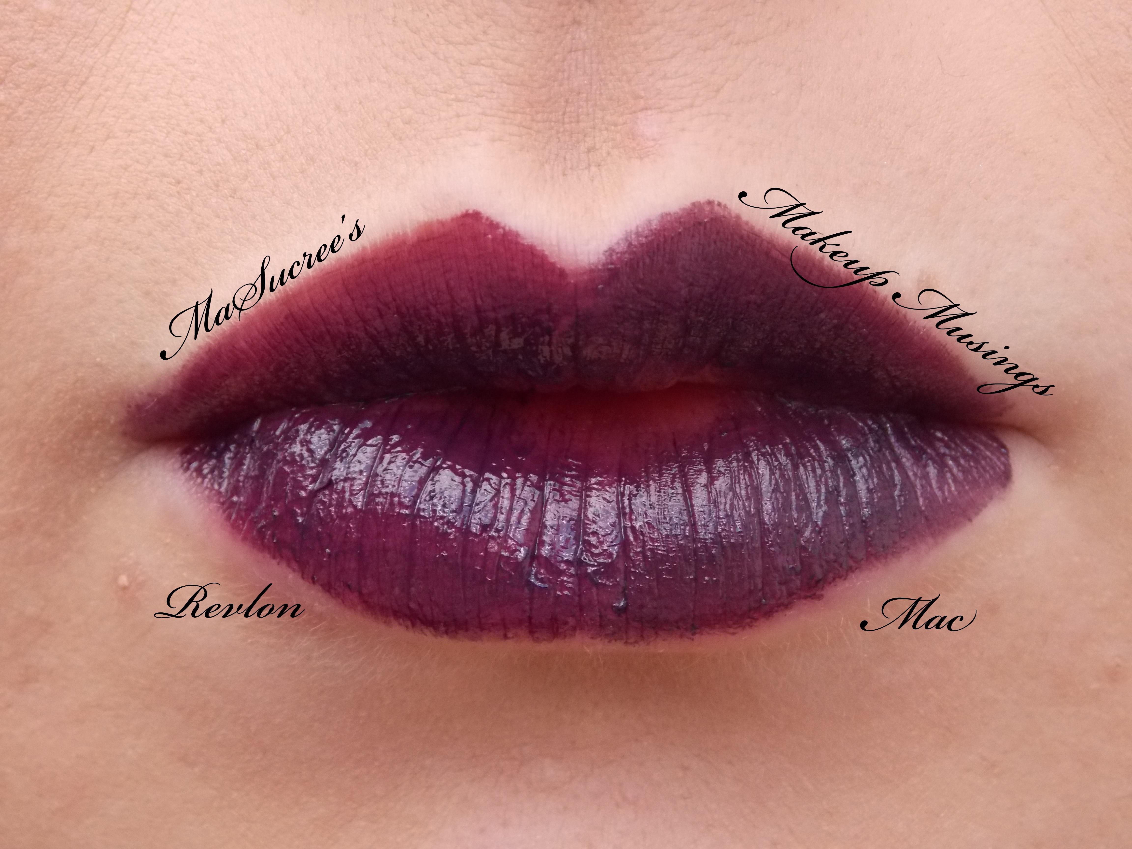 Mac Dark Purple Lipstick Name - Info