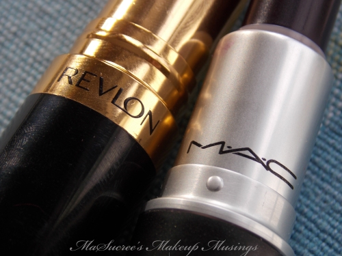 MAC Vs Revlon Dark Purple