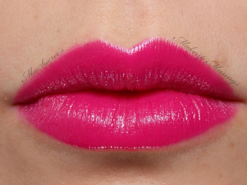 MAC Girl About Town Lip Swatch 2