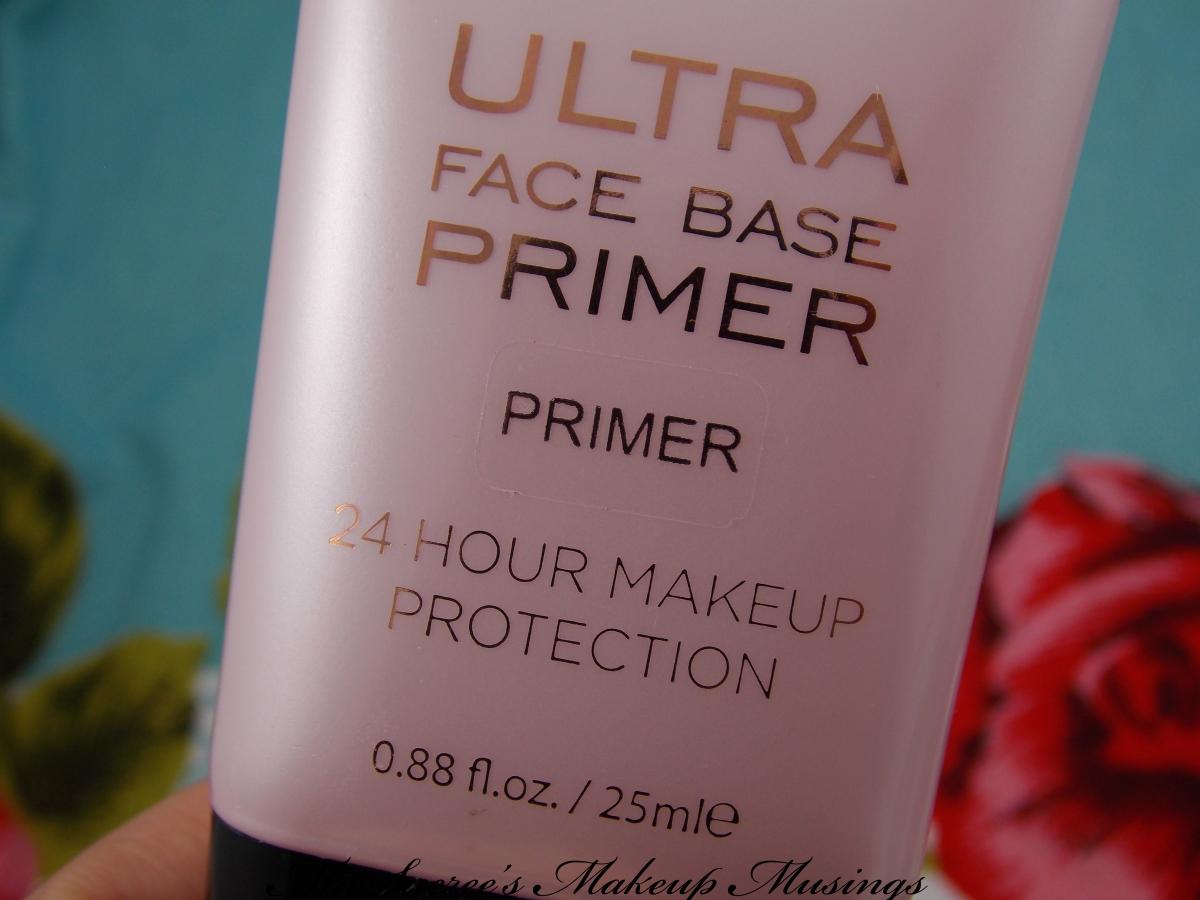 Make Up Revolution Ultra Face Base Primer – Miss T's Makeup