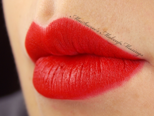 MAC Ruby Woo lip