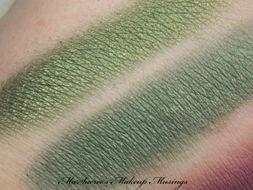 NV Eyeshadow Olive Swatch