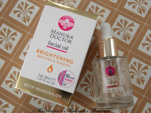 MD Bightening Facial Oil