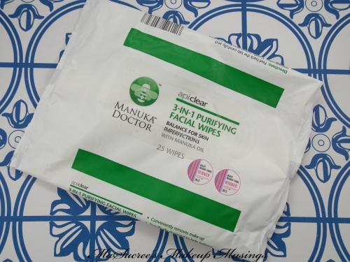 Manuka Doctor Face Wipes