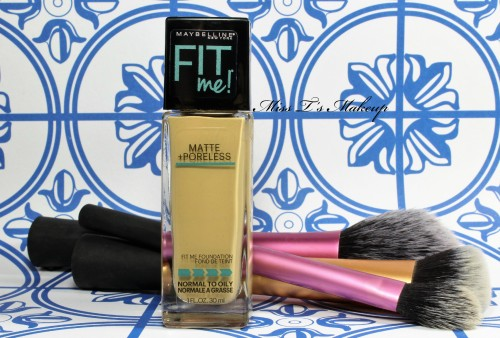 Maybelline Fit Me Foundationedited
