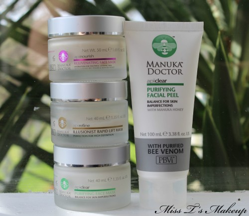 Manuka Doctor Face Masks