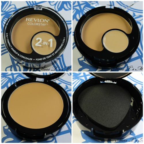 Revlon 2 in 1 Compact Collage
