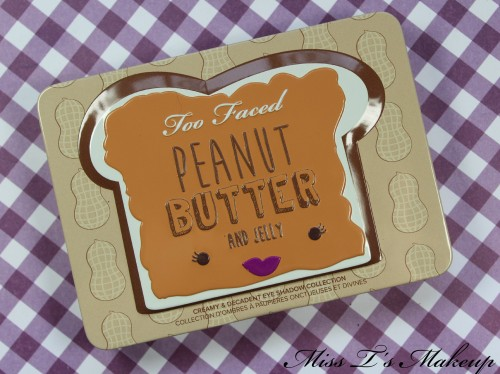 Too Faced peanut butter case closed