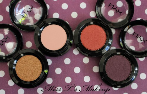 NYX Eyeshadow Open 2