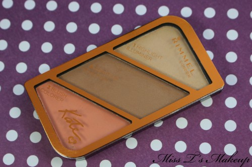 Rimmel sculpting palette closed